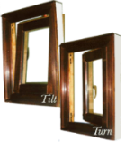 Copper Clad Tilt-Turn Windows