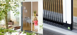 Neher Pleated Screen Door Systems from Germany
