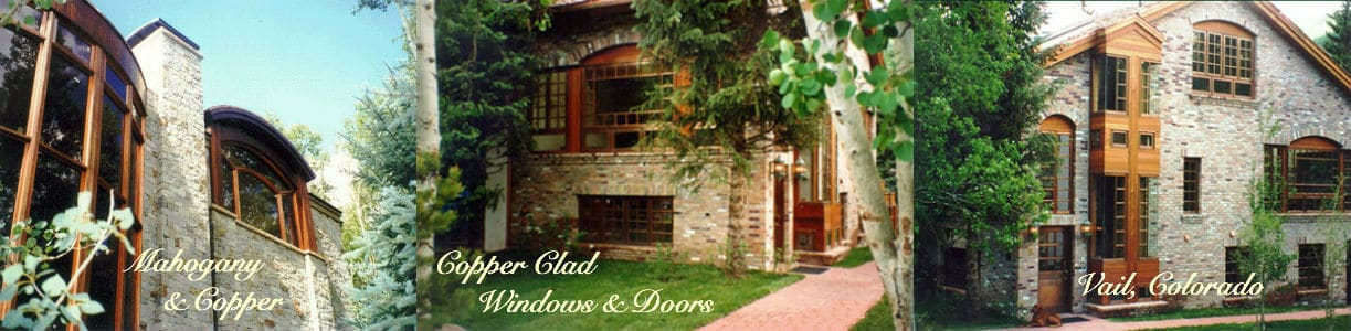 Custom Copper Clad Windows and Doors